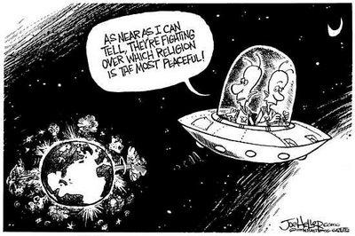 Religion War Cartoon 02
