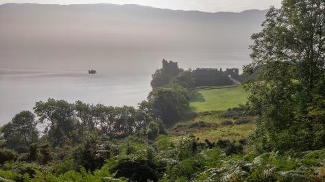 Urquhart Castle.