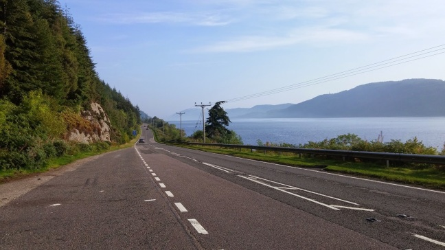 Still on Loch Ness, but now everything is crystal clear.